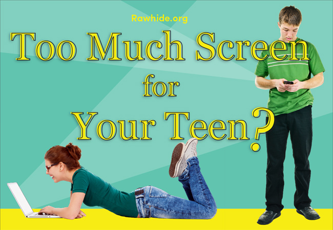 Too Much Screen for Your Teen? [INFOGRAPHIC]